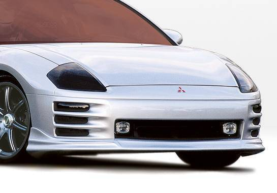 Wings West - 2000-2002 Mitsubishi Eclipse 2Dr W-Typ Front Lip Polyurethane