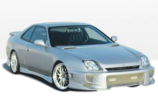 Wings West - 1997-2001 Honda Prelude Aggressor Typ 2 4Pc Complete Kit