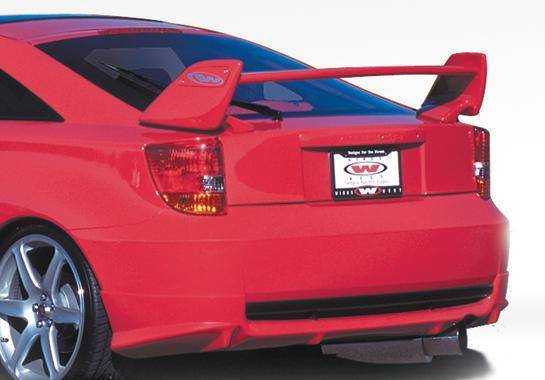 Wings West - 2000-2005 Toyota Celica 2Dr W-Type Rear Lip