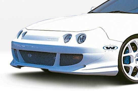 Wings West - 1994-1997 Acura Integra 2/4Dr Bigmouth Front Bumper Cover