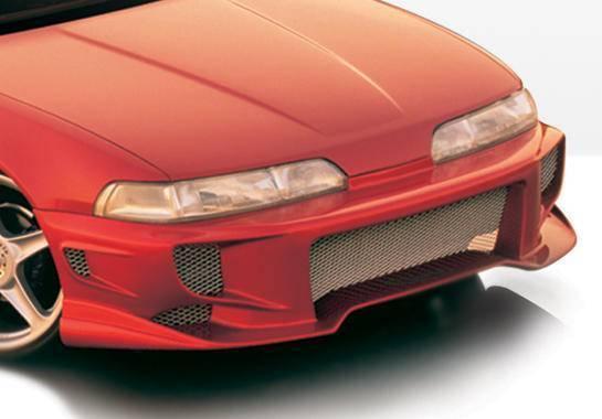 Wings West - 1990-1993 Acura Integra 2/4 Door Aggressor Type 2 Front Bumper Cover