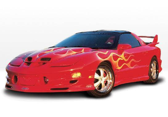 Wings West - 1998-2002 Pontiac Trans Am W-Typ 5Pc Complete Kit