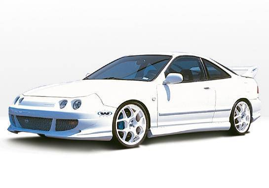 Wings West - 1994-1997 Acura Integra 4Dr Bigmouth 4Pc Complete Kit