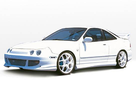 Wings West - 1994-1997 Acura Integra 2Dr Bigmouth 4Pc Complete Kit