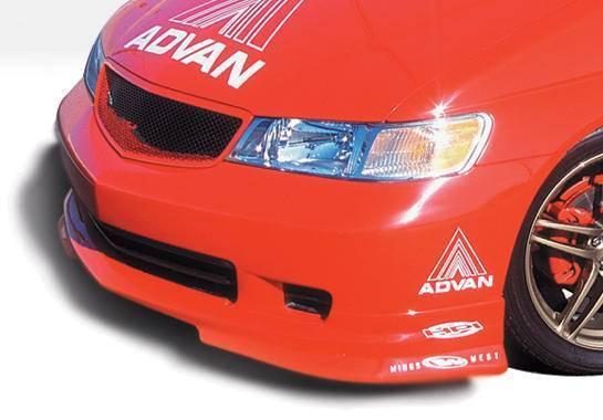 Wings West - 1999-2004 Honda Odyssey W-Typ Front Lip Polyurethane