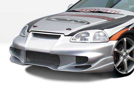 Wings West - 1996-1998 Honda Civic All Models Tuner Type 2 Front Bumper Cover