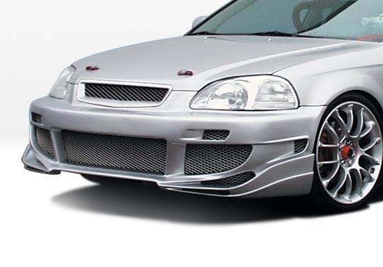 Wings West - 1999-2000 Honda Civic 4Dr Avenger 4Pc Complete Kit