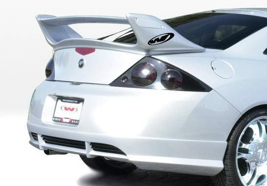 Wings West - 2001-2002 Mercury Cougar W-Typ Rear Lip Polyurethane