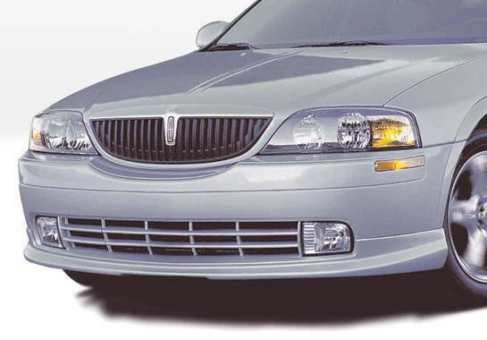 Wings West - 2000-2003 Lincoln Ls Sedan Custom Lsc Front Lip Polyurethane