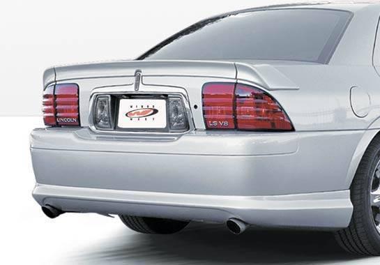 Wings West - 2000-2003 Lincoln Ls Sedan Custom Lsc Rear Lip Polyurethane