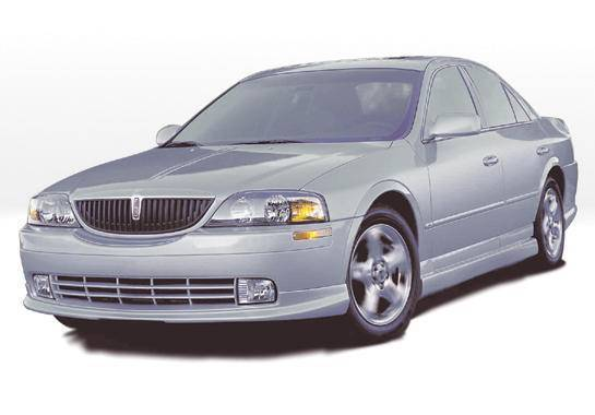 Wings West - 2000-2003 Lincoln Ls Sedan Custom Lsc 4Pc Complete Kit Polyurethane