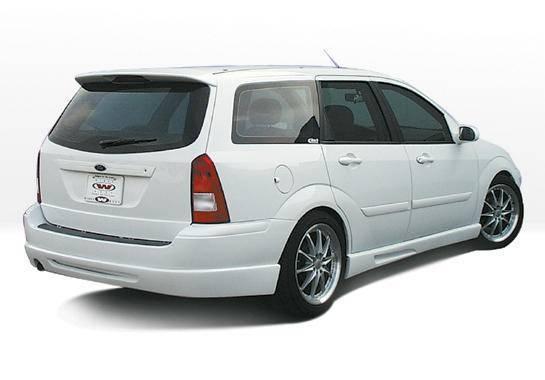 Wings West - 2000-2004 Ford Focus Wagon W-Typ Rear Lip Polyurethane
