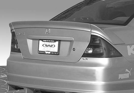 Wings West - 2001-2005 Honda Civic Custom 3Pc Flushmount No Light
