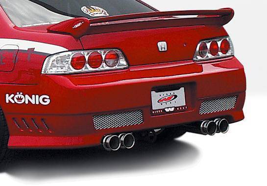 Wings West - 1997-2001 Honda Prelude Avenger Rear Bumper Cover