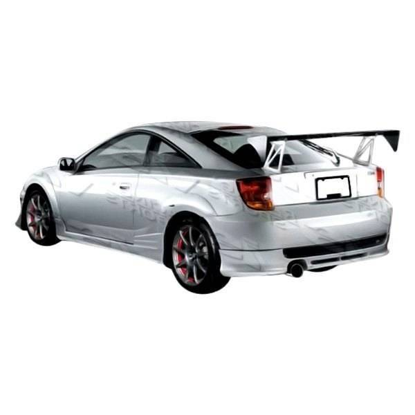 VIS Racing - 2000-2005 Toyota Celica 2Dr Zyclone Rear Lip