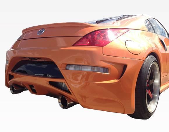 VIS Racing - 2003-2008 Nissan 350Z 2Dr Ams Gt Rear Bumper