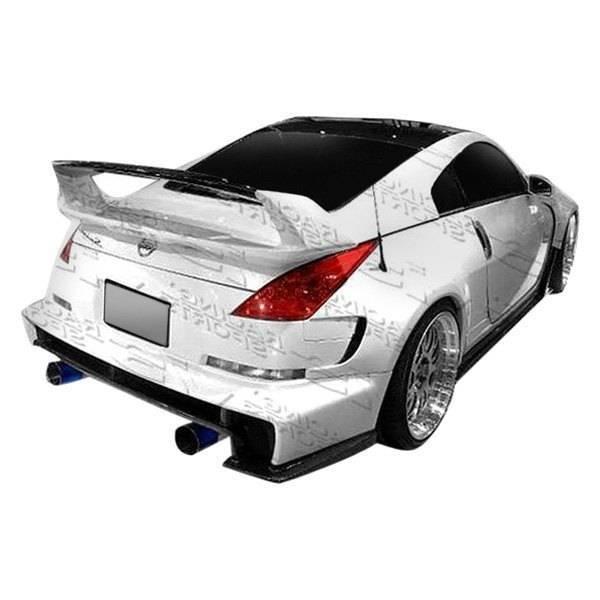 VIS Racing - 2003-2008 Nissan 350Z 2Dr Ams Widebody Side Skirts