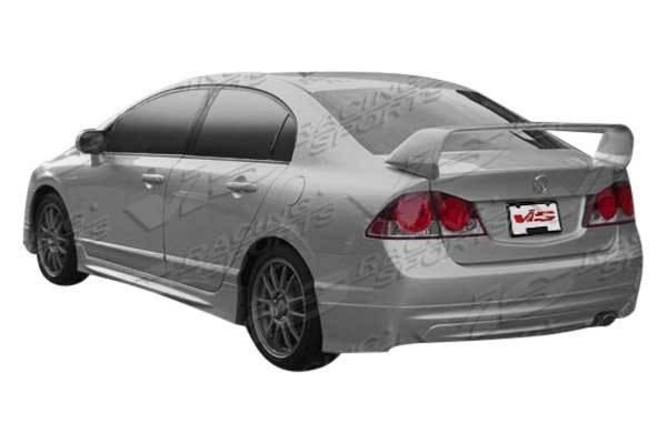 VIS Racing - 2006-2011 Honda Civic 4Dr Techno R 2 Rear Spoiler