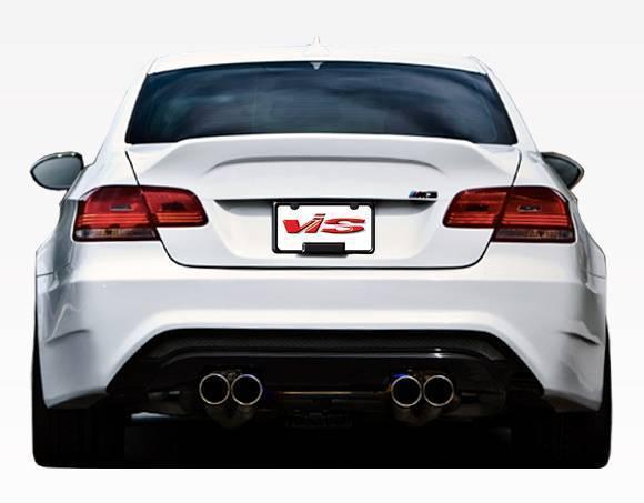 VIS Racing - 2008-2013 BMW E92 M3 2dr AMS Style Rear Bumper