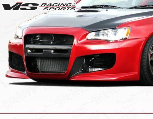 VIS Racing - 2008-2015 Mitsubishi Evo 10 Z Speed Front Bumper
