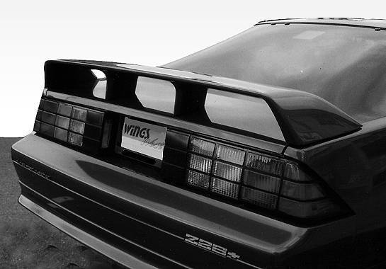VIS Racing - 1982-1992 Chevrolet Camaro Z28 Factory Style Spoiler
