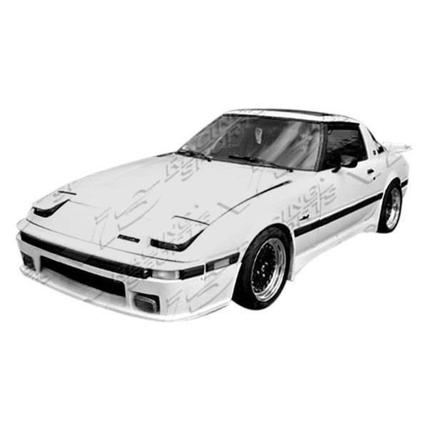 VIS Racing - 1979-1985 Mazda Rx7 2Dr Magnum Side Skirts