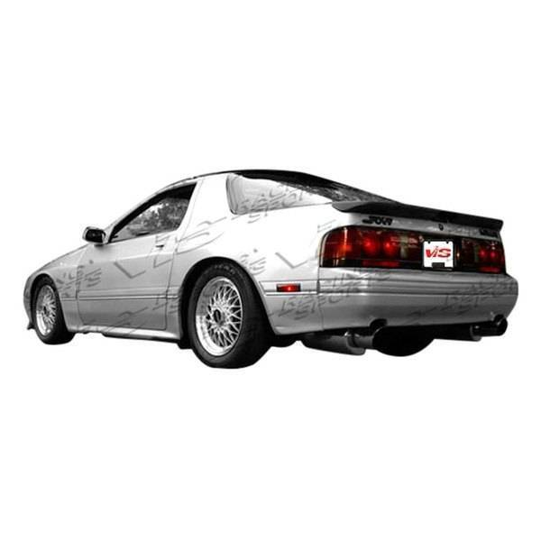 VIS Racing - 1979-1985 Mazda Rx7 2Dr Magnum Rear Add-On Lip