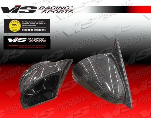 VIS Racing - 1984-1992 Bmw 3 Series E30 2D Carbon Fiber Side Mirror Housing Only