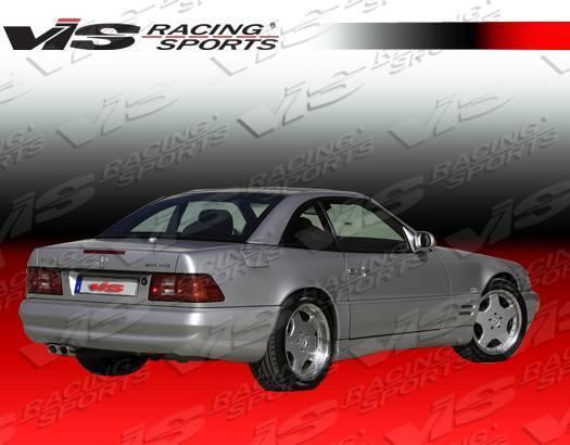 VIS Racing - 1990-2002 Mercedes Sl R129 2Dr Euro Tech Type 2 Rear Lip
