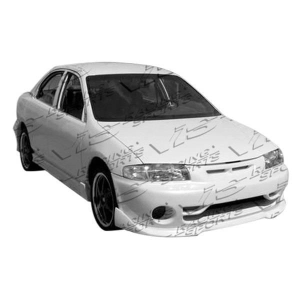 VIS Racing - 1990-1994 Mazda Protege 4Dr Techno R Front Bumper