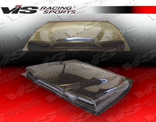 VIS Racing - 1990-1995 Toyota Mr2 2Dr Ballistix Carbon Fiber Engine Lid