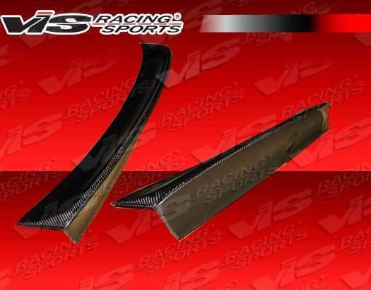 VIS Racing - 1992-1998 Bmw 3 Series E36 4Dr Csl Style Version 2 Carbon Fiber Spoiler