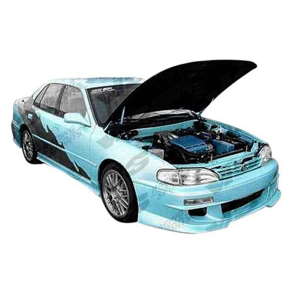VIS Racing - 1992-1996 Toyota Camry 4Dr Cyber 1 Front Bumper