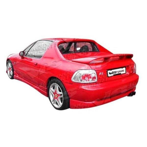 VIS Racing - 1993-1997 Honda Del Sol 2Dr Techno R Rear Lip
