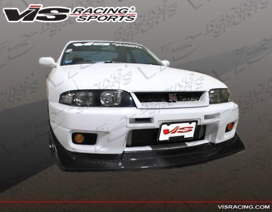 VIS Racing - 1995-1998 Nissan Skyline R33 Gtr 2Dr V Speed Carbon Fiber Lip