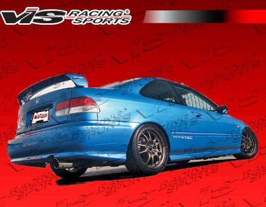 VIS Racing - 1996-2000 Honda Civic 4Dr Techno R 1 Spoiler