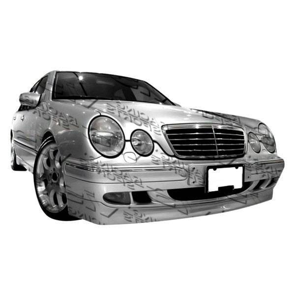 VIS Racing - 1996-1999 Mercedes E Class W210 4Dr C Tech Front Add-On Lip