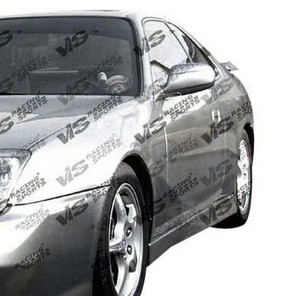 VIS Racing - 1997-2001 Honda Prelude 2Dr Techno R Side Skirts