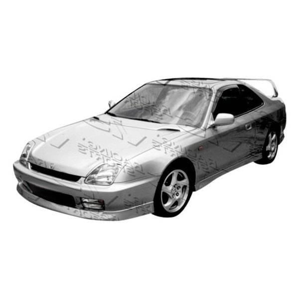 VIS Racing - 1997-2001 Honda Prelude 2Dr Techno R 2 Side Skirts