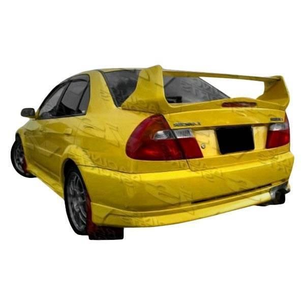 VIS Racing - 1997-2001 Mitsubishi Mirage 2Dr Evolution 5 Rear Bumper