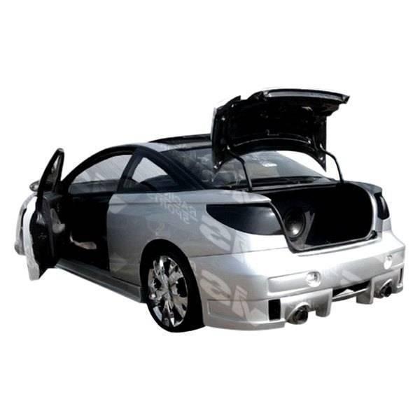 VIS Racing - 1997-2000 Saturn Sc1 Sc2 2Dr Evo 5 Rear Bumper