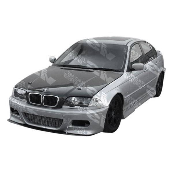 VIS Racing - 1999-2005 Bmw E46 4Dr M3 Type 2 Side Skirts