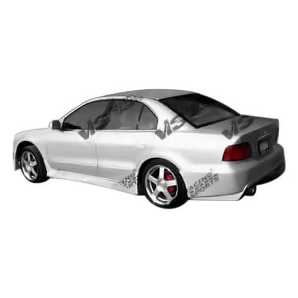 VIS Racing - 1999-2003 Mitsubishi Galant 4Dr Cyber 2 Rear Bumper