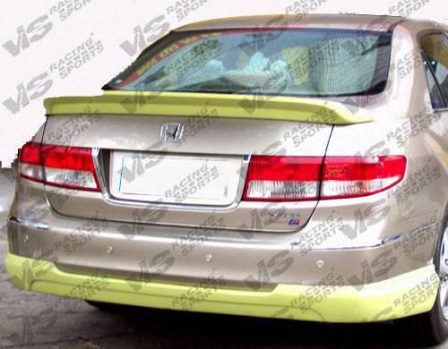 VIS Racing - 2003-2005 Honda Accord 4Dr Techno R Trunk Spoiler