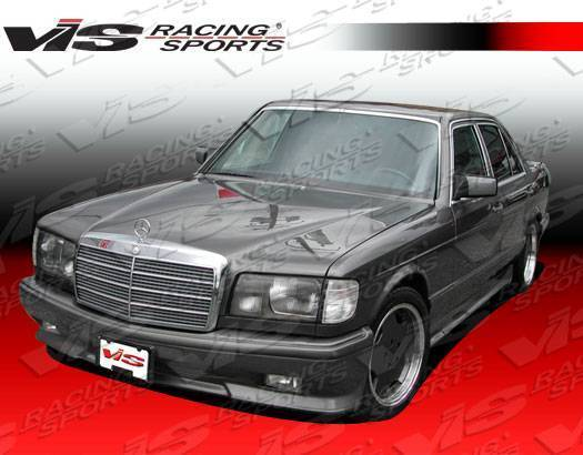 VIS Racing - 1981-1991 Mercedes S-Class W126 4Dr Euro Tech Front Bumper