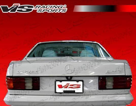 VIS Racing - 1981-1991 Mercedes S-Class W126 4Dr Euro Tech Spoiler
