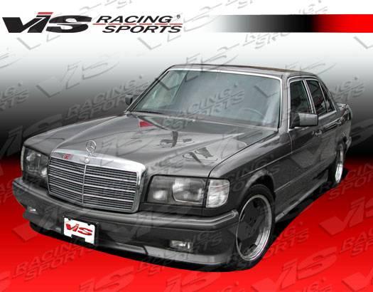 VIS Racing - 1981-1991 Mercedes S-Class W126 4Dr Euro Tech Full Kit
