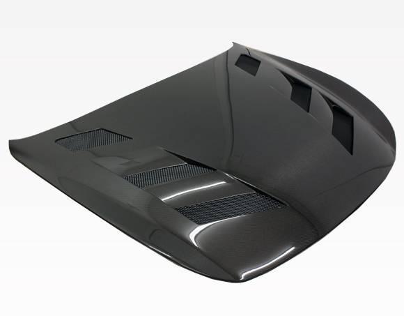 VIS Racing - Carbon Fiber Hood AMS Style for Infiniti G37 2DR 08-13