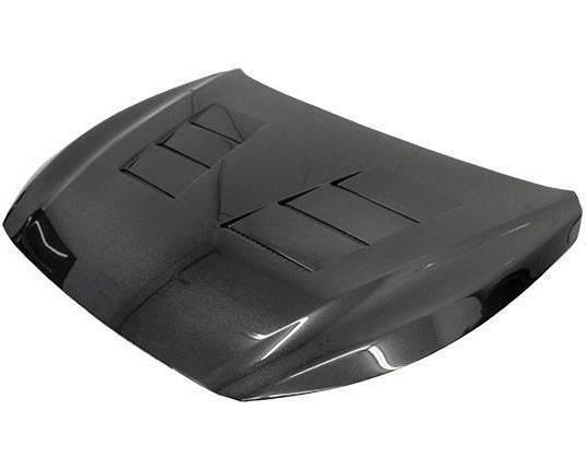 VIS Racing - Carbon Fiber Hood Terminator Style for Infiniti Q50 4DR 14-18