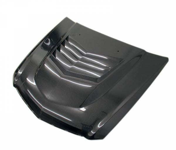 VIS Racing - Carbon Fiber Hood DV Style for Cadillac CTS-V 2DR 09-15